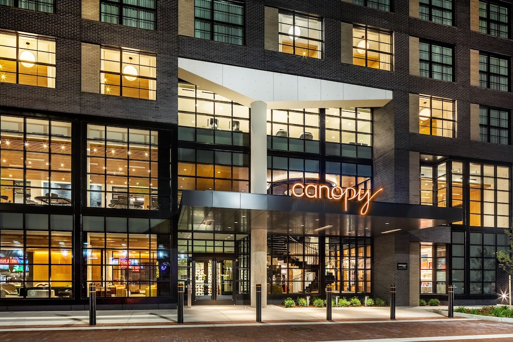 Front of Property - Evening/Night, Canopy by Hilton Grand Rapids Downtown