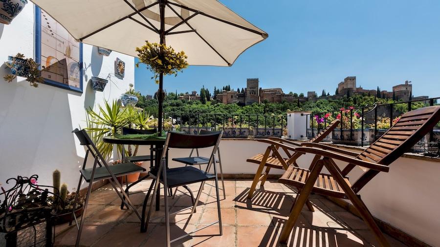 Cozy Aptm in Albaicín 2Bd & Terrace With Views to Alhambra. Mirador de Lorca