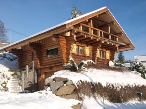 Chalet With 3 Bedrooms in La Bresse, With Wonderful Mountain View, Enclosed Garden and Wifi - 10 km From the Slopes