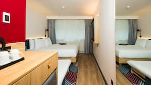 In-room safe, iron/ironing board, bed sheets