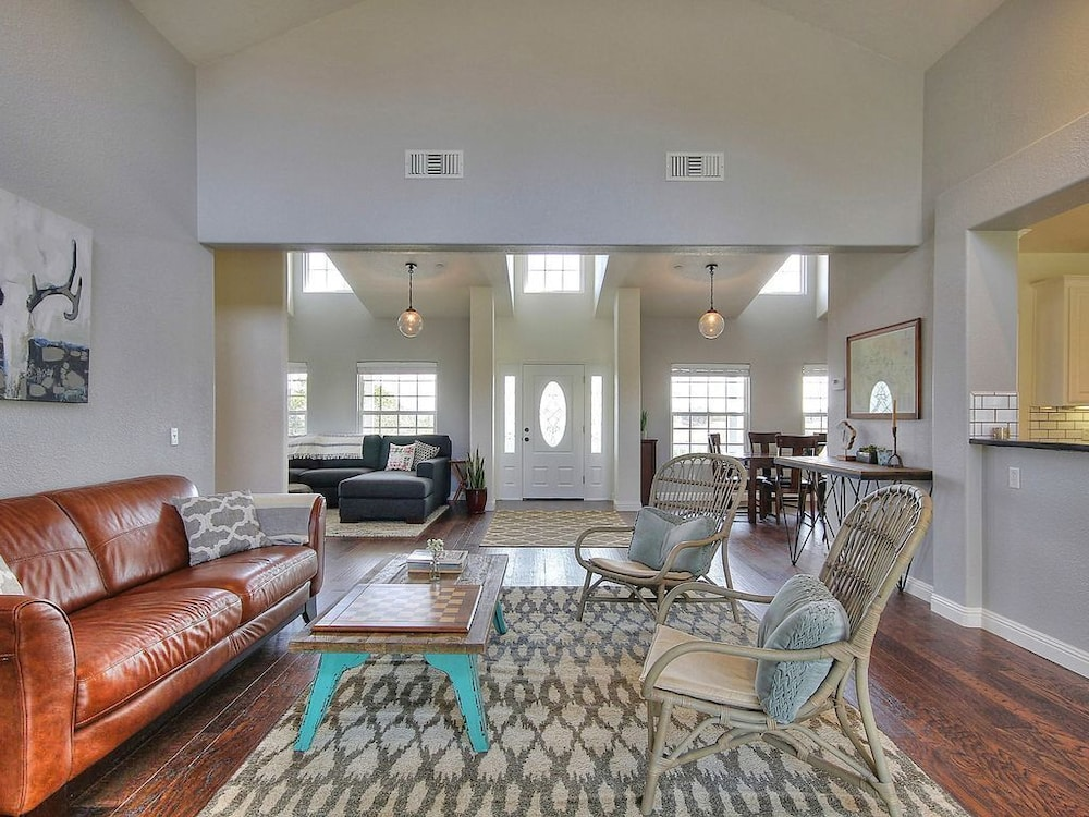Living Room, Serene and Private Ranch With Expansive Views
