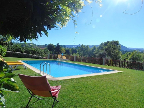 House With 3 Bedrooms in Fermil, Santa Tecla de Basto, With Shared Pool, Enclosed Garden and Wifi
