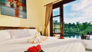 3 kamar tidur, Wi-Fi gratis, dan seprai linen