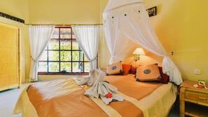 2 kamar tidur, Wi-Fi gratis, dan seprai linen