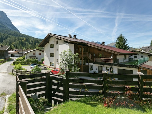 Charming Apartment in Ehrwald With Roofed Terrace