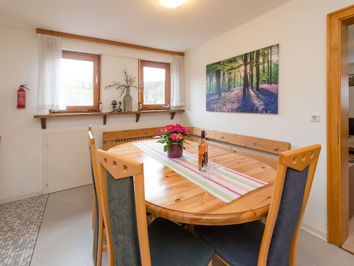 Large Apartment Near Winterberg and Willingen With Covered Terrace
