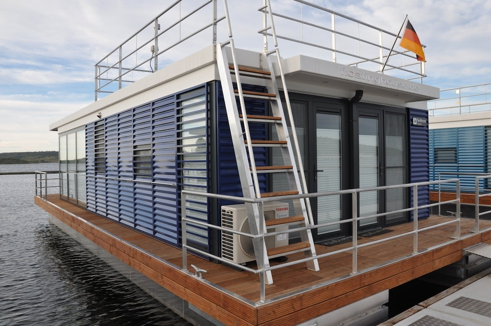Exterior, Houseboat Nessi! Vacation on the Geiseltalsee!