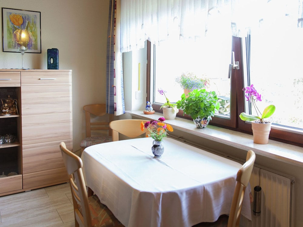 Dining, Comfortable Apartment With a Beautiful View in Morscheid