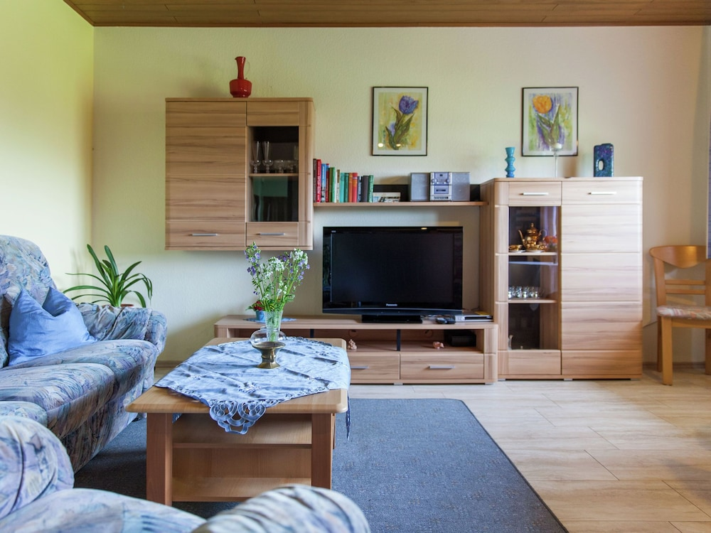 Living Room, Comfortable Apartment With a Beautiful View in Morscheid