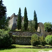 Vintage Castle in Monteriggioni Tuscany Near Forest
