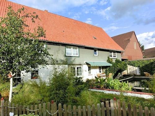 Comfortable Apartment on the First Floor in the Southern Harz at a Horse Riding Centre
