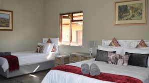 Individually furnished, free WiFi, bed sheets, wheelchair access