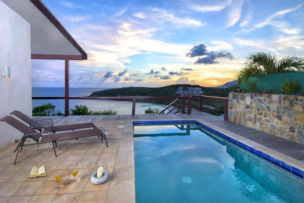 Featured Image, Villa With 3 Bedrooms in Sint Maarten, With Wonderful sea View, Private Pool, Terrace - 200 m From the Beach