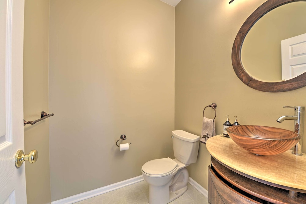 Bathroom, Egg Harbor Township Property w/ Pool + Hot Tub Hut
