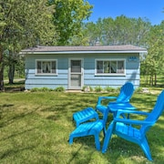 New! Lake Charlevoix Pet-friendly Cabin Getaway!