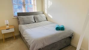 Individually furnished, iron/ironing board, cribs/infant beds, free WiFi