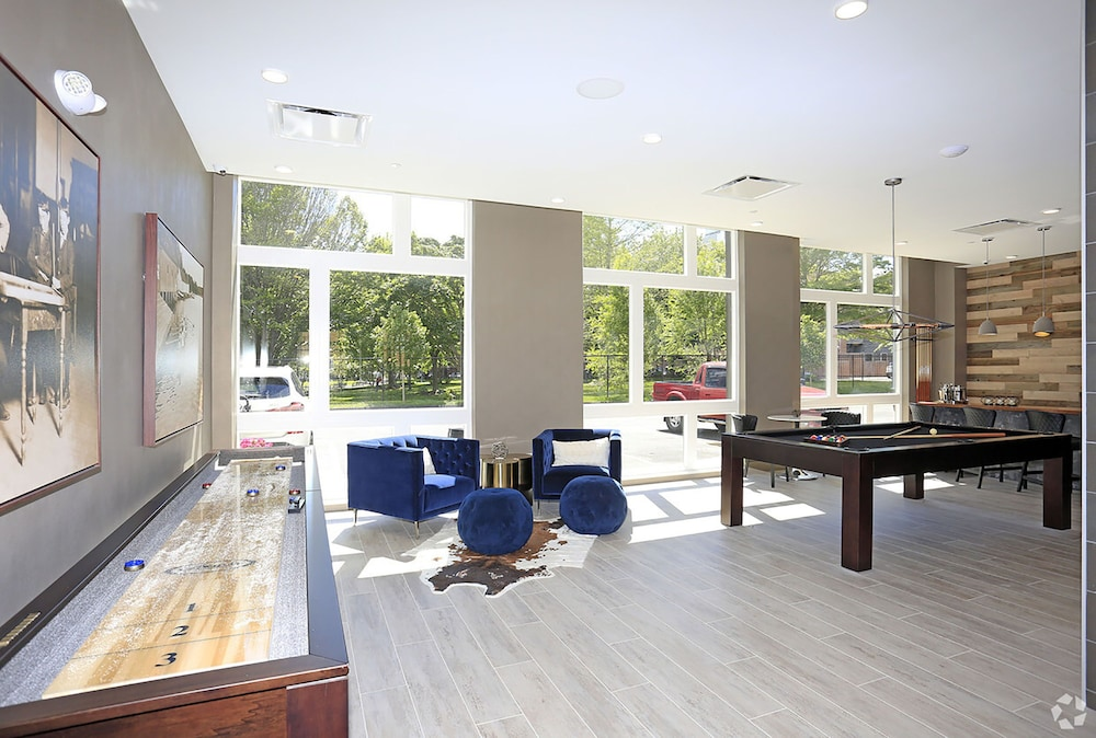 Game Room, Award-winning Apt w/ Parking & Gym Downtown at Yale