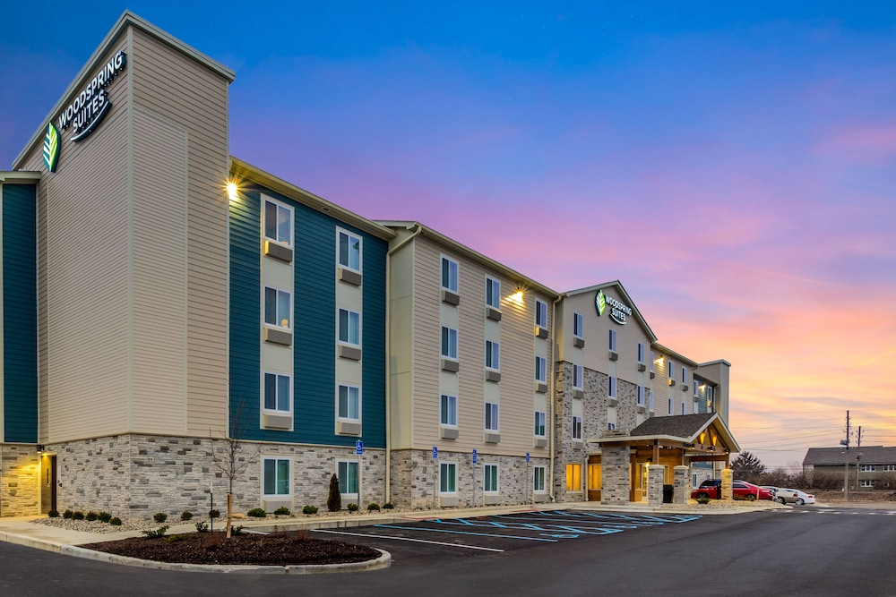 Exterior, WoodSpring Suites Colton