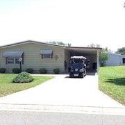 Wonderful Rental - 2br/2ba w Cart in Silver Lake of The Villages