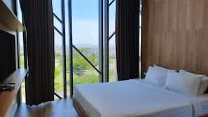 Minibar, iron/ironing board, rollaway beds, bed sheets