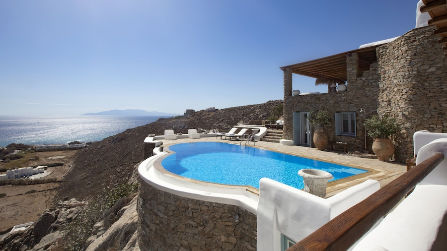 Villa Aerie - Sweeping sea views, eclectic style  by VillaRentalsgr