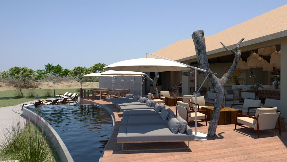 Outdoor Pool, Thabamati Luxury Tented Camp