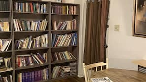 TV, books