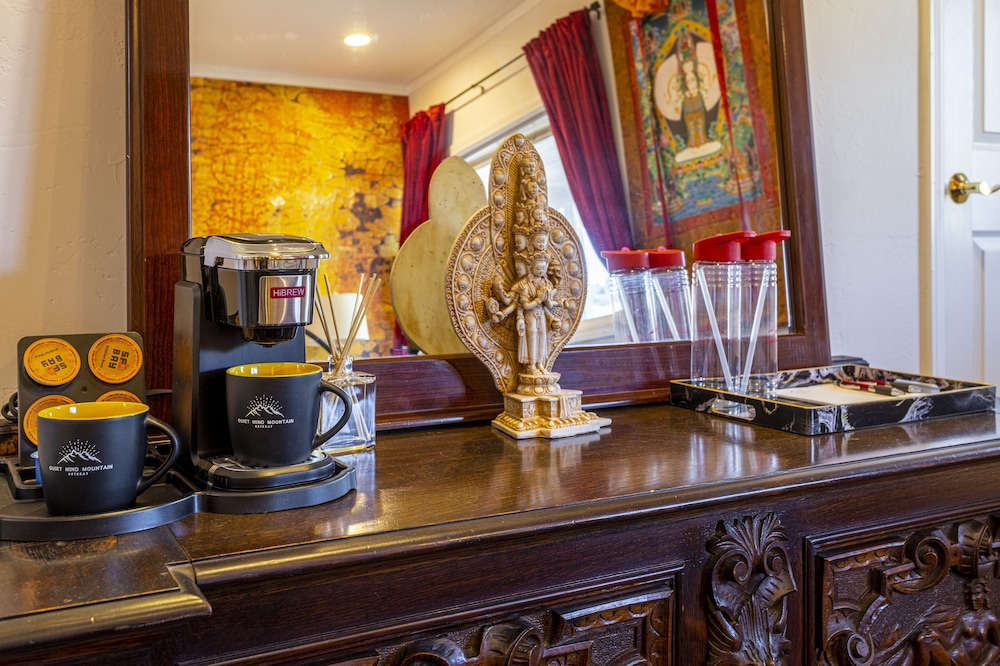 Coffee and/or Coffee Maker, Quiet Mind Mountain Lodge & Retreat