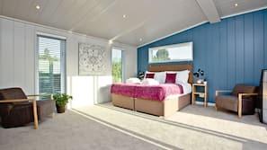 1 slaapkamer, een strijkplank/strijkijzer, internet, beddengoed