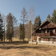 Chalet in the Middle of the Forest and in the Slovenian Mountains