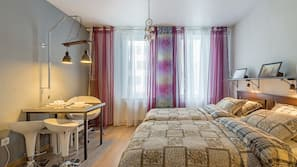 1 Schlafzimmer, Bügeleisen/Bügelbrett, Internetzugang