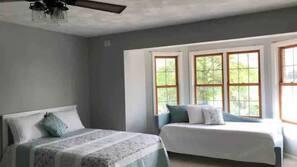 6 bedrooms, desk, travel crib, free WiFi