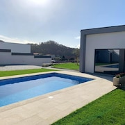 Villa With 3 Bedrooms in Esposende, With Wonderful Mountain View, Private Pool, Enclosed Garden