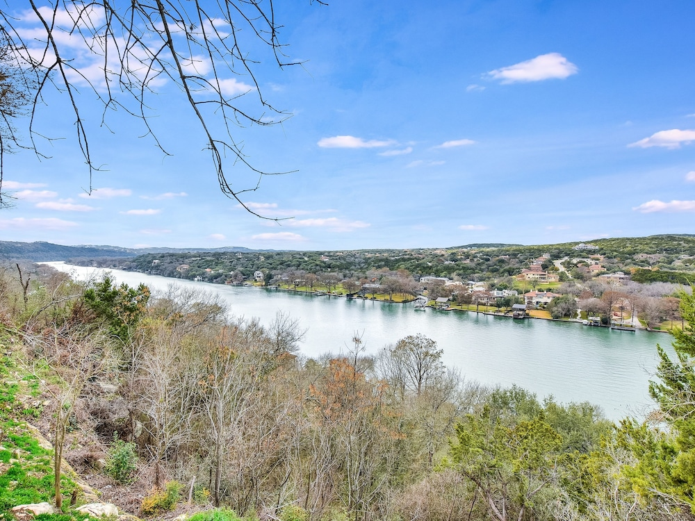 Lake, The Arrive Vista Estate Above Lake Austin 5 Bedroom Home