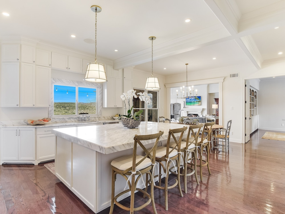 Private Kitchen, The Arrive Vista Estate Above Lake Austin 5 Bedroom Home