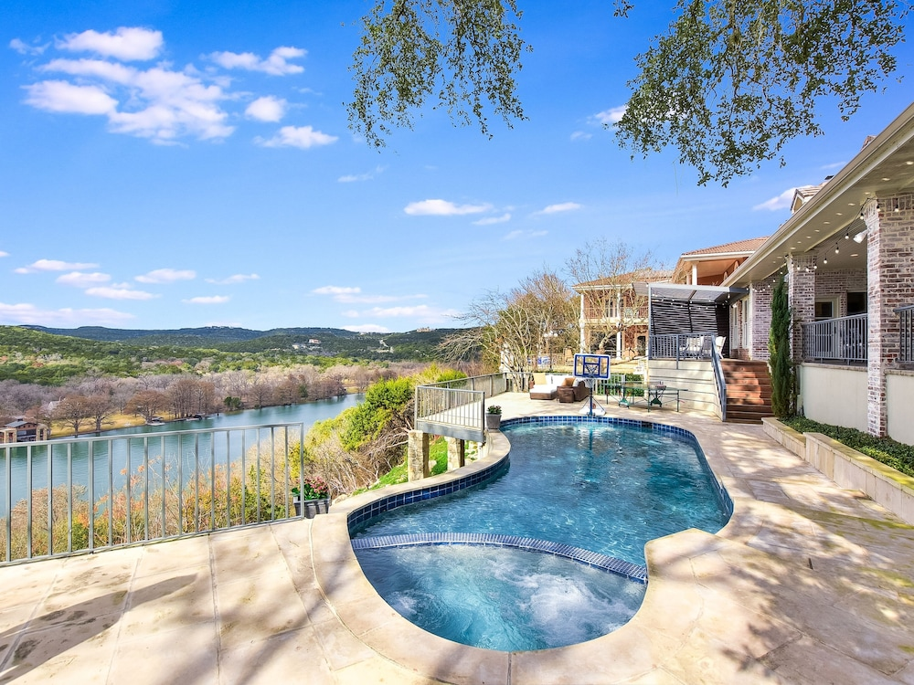 Pool, The Arrive Vista Estate Above Lake Austin 5 Bedroom Home