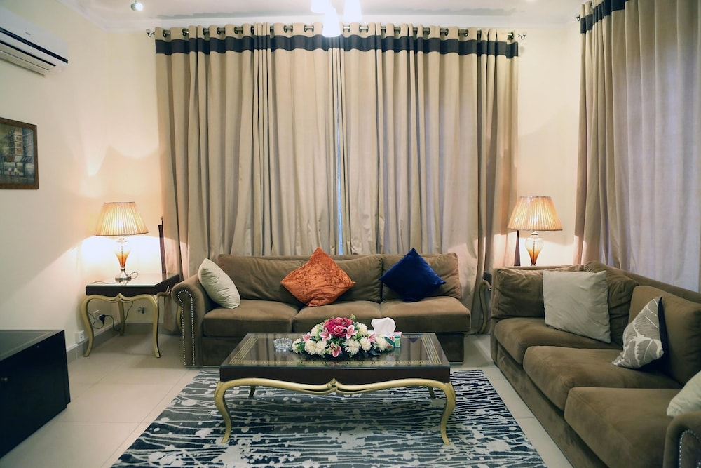 Living Room, Butterfly Guest House Phase 7 Bahria Town