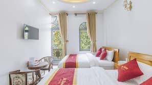 Premium bedding, free minibar, blackout curtains, soundproofing