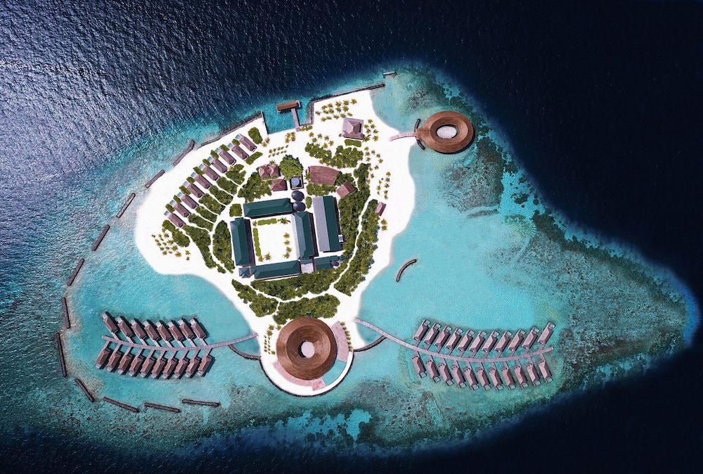 Aerial View, Kagi Maldives Spa Island