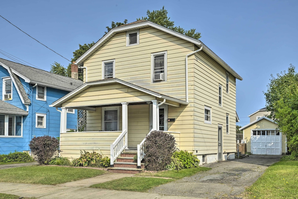 Exterior, New! Charming Home, Near University & Attractions!