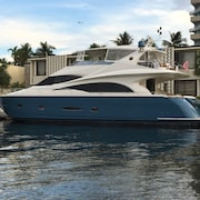 3 br, 3 ba Luxury Yacht; Stunning Marquis 65 Foot Yacht. In the Heart of Naples Marina, Close to Famous 5th Avenue