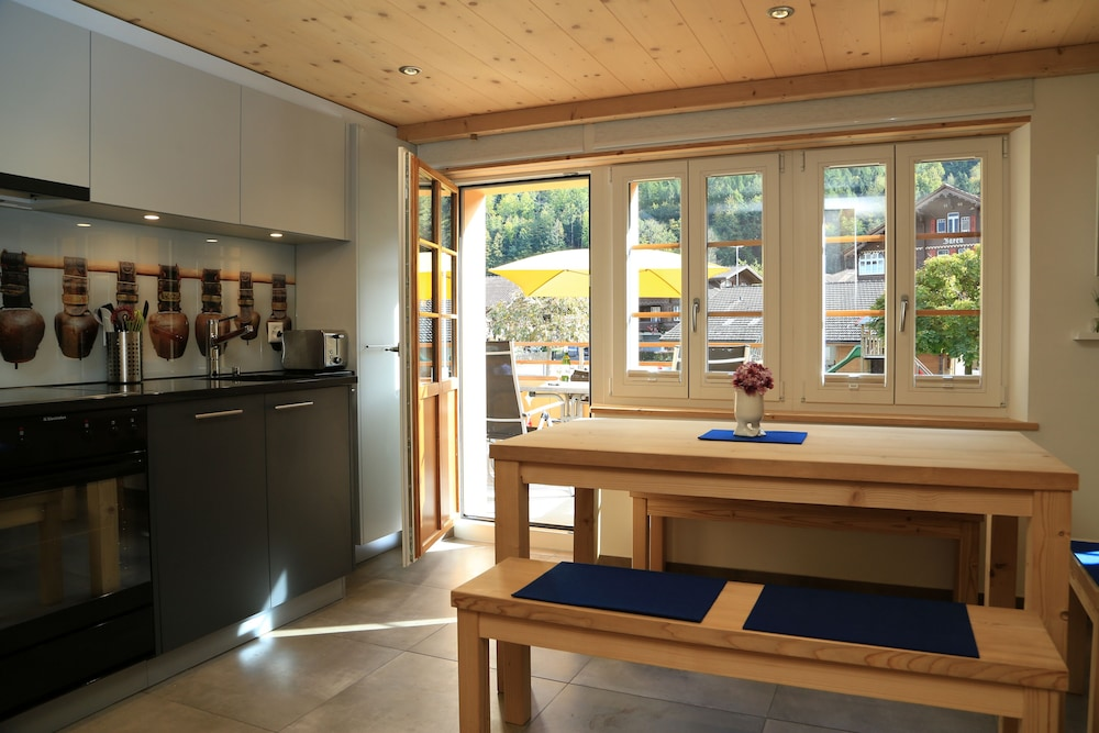Private Kitchen, Holiday Home With a Nice Balance Between Rustic Charm and the Modern