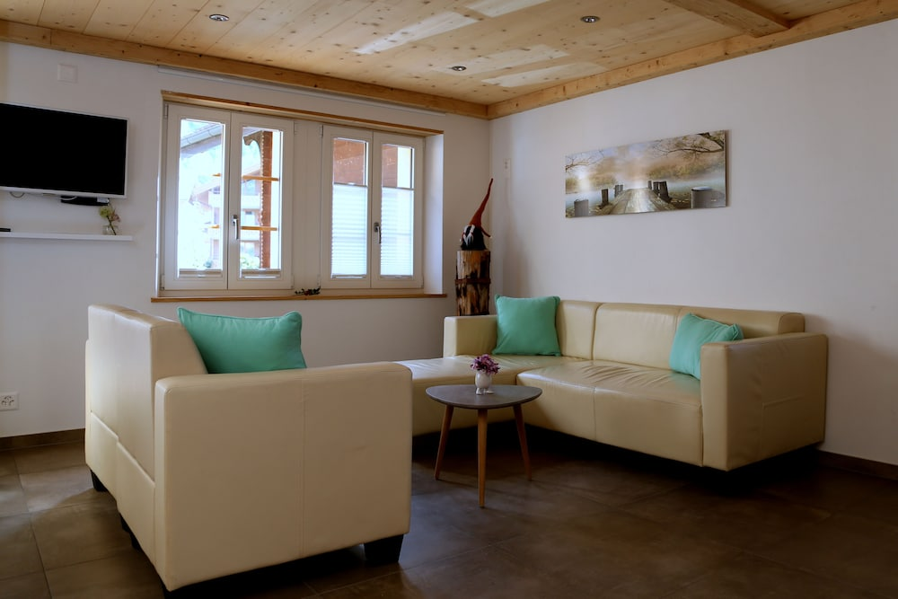 Living Room, Holiday Home With a Nice Balance Between Rustic Charm and the Modern