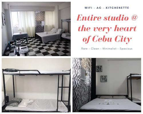 Rare Spacious Studio Very Heart of Cebu City Near Santo Niño Basilica Church