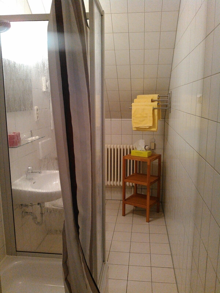 Bathroom Shower, Landhotel Possendorf