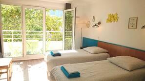 1 soveværelse, internetforbindelse, sengetøj