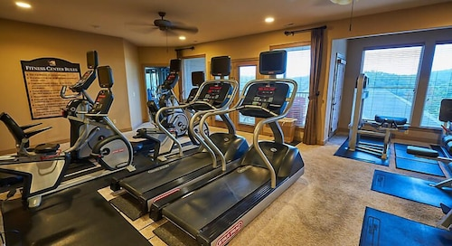 Gym, Luxurious Units at The Cliffs at Long Creek!