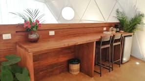 Minibar, individually furnished, desk, laptop workspace