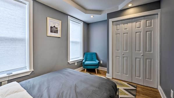 2 quartos, Wi-Fi de cortesia, roupa de cama