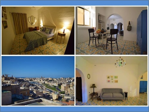 Boutique Maltese Apartment - Character, Views, A/C